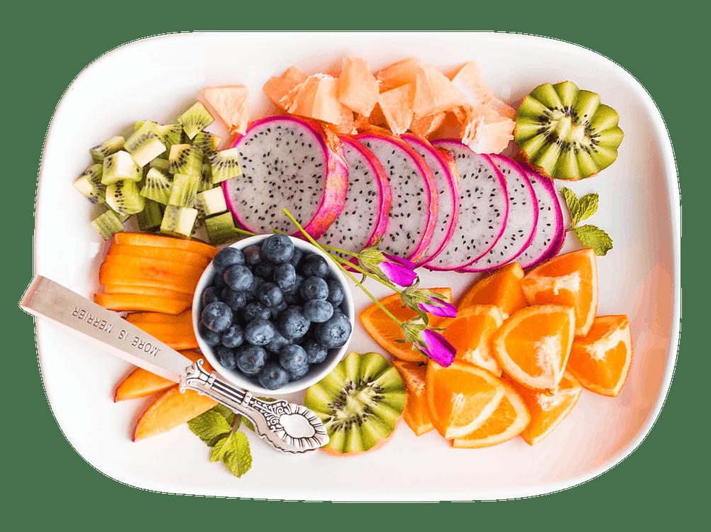 dieta orientale a base di frutta e di verdura