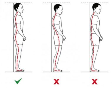 postura corretta prova da fare